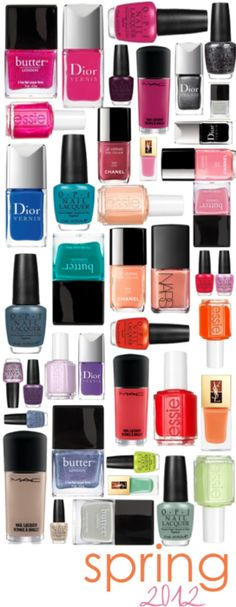 I *might* have a nail polish hoarding problem. The ladies at the nail salon laugh at me because I always bring my own colors. This totally feeds my nail polish addiction!