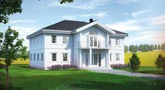 Odel er en herskapelig villa | Norgeshus