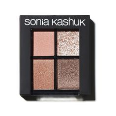 Sonia Kashuk Eye Shadow Quad - Fair And Square ($14) ❤ liked on Polyvore featuring beauty products, makeup, eye makeup, eyeshadow, sonia kashuk and sonia kashuk eyeshadow