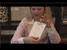 Video - How to make wedding invitations.