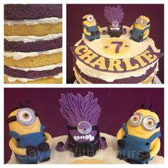 Despicable Me 2 cake.