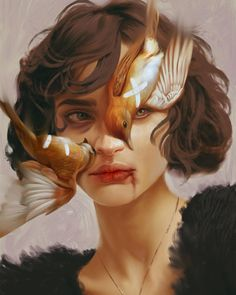 Illustration Art by Aykut Aydoğdu. Aykut Aydoğdu, Turkey is an artist born in 1986 in Ankara. Aydoğdu, who has worked on art. Art And Illustration, Art Sketches, Art Drawings, Pencil Drawings, Music Poster, Art Du Collage, Collage Drawing, L'art Du Portrait, Digital Portrait