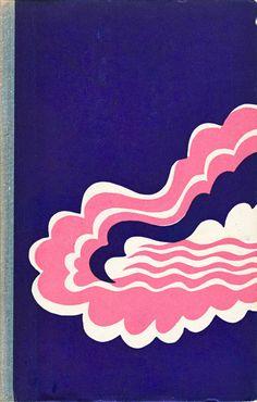 "1976 novel, ""Raske vesi"" (""Heavy water"") by Kalju Saaber, cover by Milvi Torim, via Estonian Books tumblr"