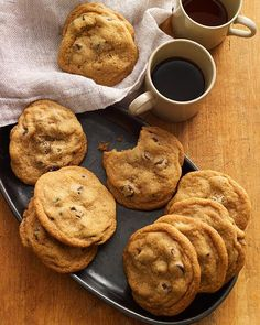 My Happy Dish: Chubby Tate Chocolate Chip Cookies from Kathleen King of Tate's Bake Shop