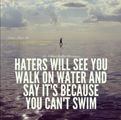 ✌right on.... Haters see what they want to. Whether reality or not... Let it go