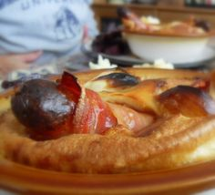 Sausage and Bacon Toad in the Holefrom The English Kitchen