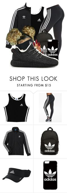 """""""Adidas Everywhere . Party Later"""" by shamyadanyel ❤ liked on Polyvore featuring adidas and adidas Originals"""