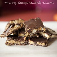 Clean Eating Snickers Bar Slice (Gluten Free, Lactose Free)