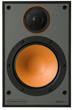 AUDIOPHILE MAN - HIFI NEWS: MONITOR SERIES SPEAKERS WITH ORANGE DRIVER CONES! The new Monitor Series from Monitor Audio utilises a black C-CAM dome tweeter derived from Monitor Audio's Bronze series. With a choice of bookshelf or floorstanding speakers, they arrive in a choice of black, white or walnut. To read more and see a video on the new speakers, click https://theaudiophileman.com/monitor-series-audio-speakers-news/