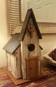 Awesome Bird House Ideas For Your Garden 22 #birdhouseideas