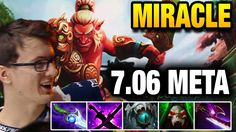 Miracle- Dota 2 [Troll Warlord] CRAZY Troll in this 7.06 META