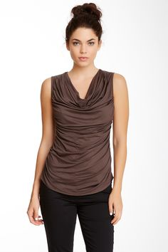 Trina Turk Kace Draped Top by Trina Turk on @HauteLook