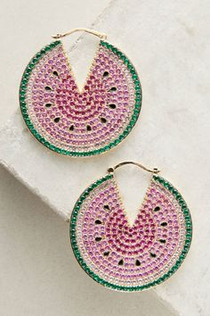 Shop the Watermelon Hoop Earrings and more Anthropologie at Anthropologie today. Read customer reviews, discover product details and more.