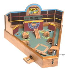 "Generic Circa Baseball Desktop Game. Front Porch Classics offers ""unplugged family entertainment"" that brings people together through play. #Best Seller in Miniature Pinball Machines                  ."