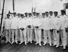 Captain Edward Smith of the Titanic and his crew