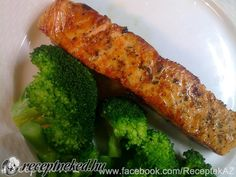Grillezett lazac brokkolival Food 52, Food And Drink, Low Carb, Vegetables, Veggies, Veggie Food, Vegetable Recipes