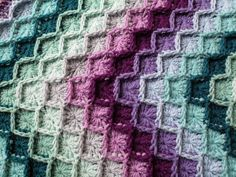 Beautiful color scheme- wool-eater or Bavarian crochet