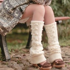 leg warmers to keep you cozy!