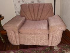 Vintage 1940's Club Chair by VintageAppleTreasure on Etsy, $250.00 SOLD!!!!