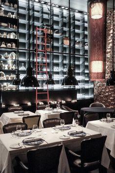 Tunes Restaurant at the Conservatorium hotel Amsterdam designed by Piero Lissoni