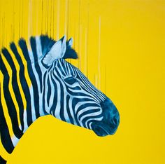 Fluorescent Animals by Louise McNaught - You Creatives