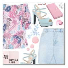 """-"" by emilypondng ❤ liked on Polyvore featuring New Look, Topshop and NARS Cosmetics"