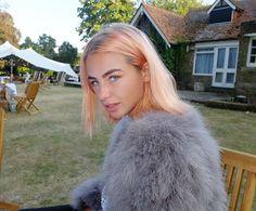 Jess Woodley Peach Hair                                                                                                                                                     More