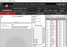 BadBoomPoker 2017 01 29 . €0.25 NL Hold'em [Turbo, Progressive KO], €50 Gtd . Lugar 001