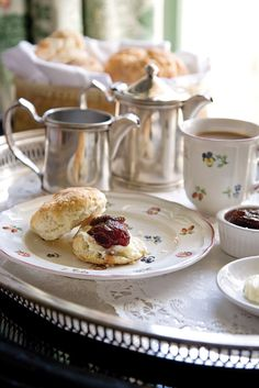 A leisurely stay at the Soniat House in New Orleans includes world-class amenities and the inn's signature breakfast of featherlight buttery biscuits, garden-fresh strawberry preserves, and chicory-kissed Creole café au lait. #neworleans