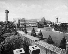 This is a picture of what the Crystal Palace looked like and it has some information about it as well.