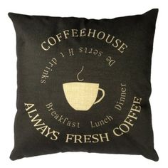 "Amazon.com - Buankoxy Cotton Linen Square Throw Pillow Case Decorative Cushion Cover Pillowcase 18 ""X18 "" Bicycle City -"
