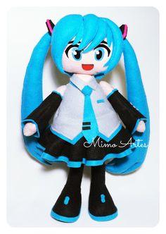 Mimo Artes: Hatsune Miku