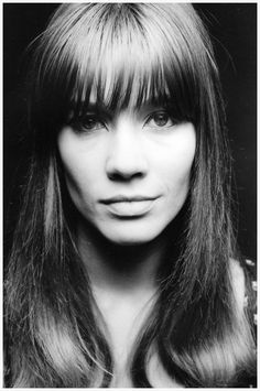 Françoise Hardy (1944) - French singer and actress. Photo Jean Loup Sieff, Paris, 1965