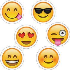 Emojis Hot Spot Stickers by Creative Teaching Press Emoji Cupcake Toppers, Emoji Cake, Emoji Earrings, Bar Stud Earrings, Creative Teaching Press, Emoji Stickers, Crafts For Kids, Doodles, Paper Crafts