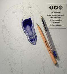 Jaw. [S03X05:56] #Drawing #Ink #Bear #Grizzly #rafaelxaugusto