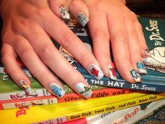 Dr Seuss Nails