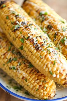 This Parmesan corn on the cob will be a hit at the get together for Father's Day.