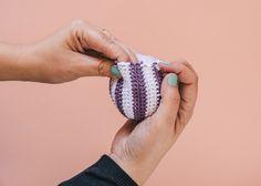El blog de Dmc: Patrón de ganchillo: bolas de Navidad