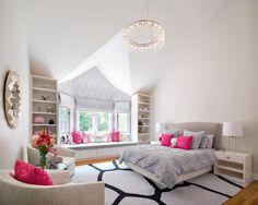 Szürke-pink szoba - gyerekszoba ötletek