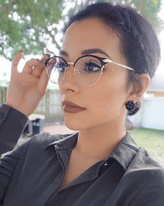 Unisex full frame mixed material eyeglasses in 2020 Glasses Frames Trendy, Fake Glasses, Glasses For Round Faces, Cheap Eyeglasses, Eyeglasses For Women, Womens Prescription Glasses, Round Lens Sunglasses, Fashion Eye Glasses, Unisex