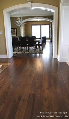 black walnut hardwood flooring