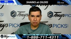San Jose Sharks vs. Edmonton Oilers Free NHL Hockey Picks and Prediction...