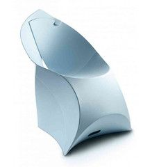 Flux chair ice blue