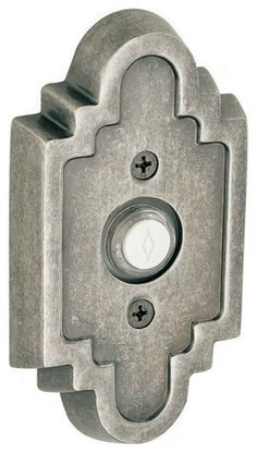 Made in the southwestern design aesthetic, the Navajo Scalloped #Doorbell is available in 4 finishes.