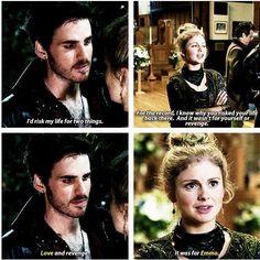 He loves him some Emma!