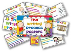 Teaching With Love and Laughter: The Writing Process Posters (newly updated)