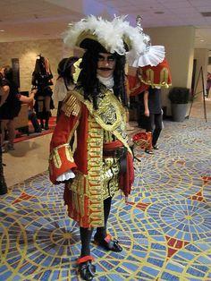 Captain James Hook cosplay.