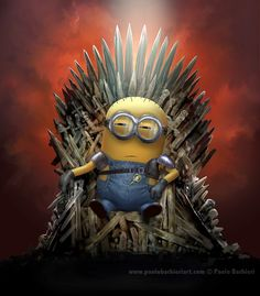 Minion & Games of Thrones tribute - Paolo Barbieri Art