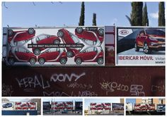 Smart: Only one On the next billboard, only one car fits. #Advertising Agency: Contrapunto BBDO, Madrid, Spain.   #outdoor #smart #adv