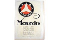 Mercedes automobile advertisement